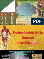 efectos fisiológicos de la movilización
