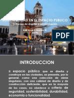 1.Sostenibilidad en el diseño y rehabilitacion de los espacios publicos 092018
