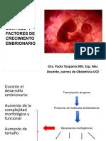 9 Control y Factores de Crecimiento Embrionario