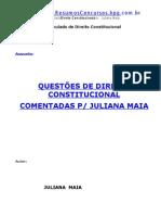 (Livro Direito) Direito Constitucional - CONCURSO PÚBLICO - AUDIOJUS Comentado_JulianaMaia