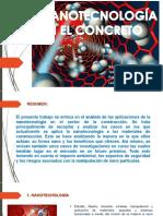 NANOTECNOLOGIA DEL CONCRETO