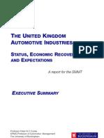 SMMT KPMG UK Automotive Exec Summary