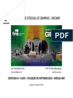 Geo5 - MEF - Fluxo