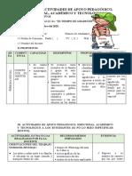 ACTIVIDAD DE APOYO A LOS ESTUDIANTES 17 de DICIEMBRE DEL 2020