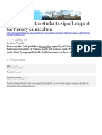 2014-04-21 - Newton Students Signal Support for History Curriculum