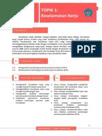 Modul Sanitasi, hygiene, dan Keselamatan kerja (Topik 1 Keselamatan Kerja)