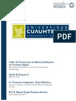 4.1 Proyecto Integrador