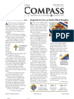 The Compass -  January 2011 from Knights of Columbus Council 697