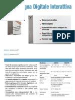 DB578 Lavagna Digitale Interattiva - Scheda Prodotto
