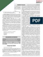 Aprueban El Plan de Medios de La Franja Electoral de Las Elecciones Generales 2021 de La ONPE