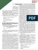 Aprueban El Reglamento de Organización y Funciones (ROF) de La Universidad Nacional Autónoma de Chota 2020