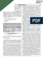 Aprueban Por Delegación La Guía Operativa Para La Gestión de Recursos Humanos Durante La Emergencia Sanitaria Por El COVID-19 Versión 3