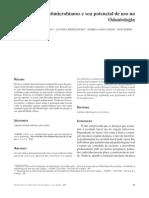 Agentes antimicrobianos e seu potencial na odontologia