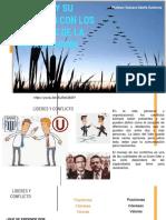 El líder y su relación con los miembros de la organización - Equipos y grupos de trabajo