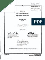 Apollo SC Deactivation Procedures for Landing Safing Team Mission AS501 (SC017)