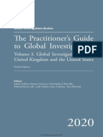 Global Investigations Review the Practitioners Guide to Global Investigation 4th Edition Volume 1
