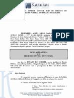 Ação Ordinária - Richarles X PMSE