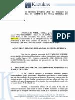 Ação Ordinária Jefaz- Josenaldo - Nivel Pós