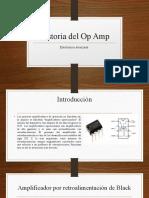 Historia Del Op Amp