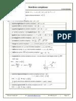 Nombres Complexes 1 2 Resume de Cours 2