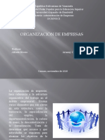 presentacion de organizacion de empresas