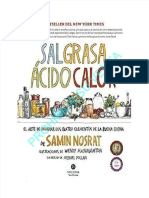 Sal, Grasa, Ácido, Calor - El Arte de Dominar Los Cuatro Elementos de La Buena Cocina - Samin Nosrat.pdf