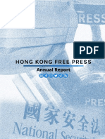 Hong Kong Free Press Annual Report 2020