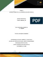 Unidad 1 - Tarea 2 - Aportes Teóricos a La Antropología Psicológica.--