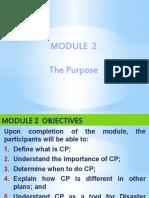 MODULE 2 - THE PURPOSE.TITUS