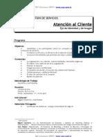 Programa Atencion al Cliente