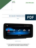 Autoradio Android 10-MERCEDES-HTP