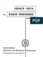 Reference Data for Radio Engineers 4ed, WESTMAN, H (1956)