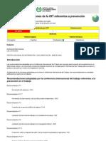 ntp_081 recomendaciones de la OIT