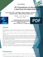 Journal Reading - The Impact Covid-19 Pandemic of Dermatosurgery Italia