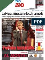 Il Giorno Milano 12 Febbraio 2010