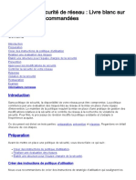 DSI_EXPLOITATION_SECURITE_STRATEGIE DE SECURITE DE RESEAU_PRATIQUES RECOMMANDEES