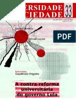 Contrarreforma Universitaria Lula