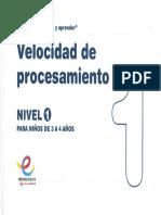 Velocidad de Procesamiento 1