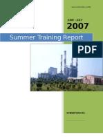 NTPC-Faridabad-Training-Report