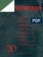 grundrisse 20 (Winter 2006)