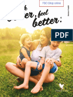 Brochure Prodotti Forever Living Products Italy (gennaio 2021)