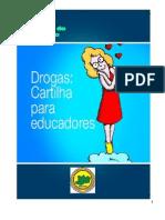 Cartilha - Drogas - Cartilha para Educadores