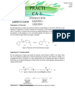 Practica 3 extraccion liquido liquido - Organica 1