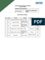 Bibliografía Procesos Biológicos 21-2