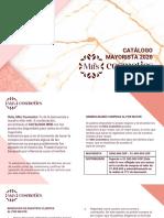 CATÁLOGO MIIS COSMETICS PÁGINA WEB