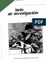 El Diario de Investigación Materiales Para Una Teoría de La Implicación - René Lourau1