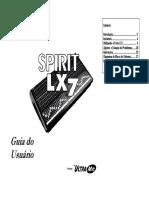 Spirit Lx7 User Guide Portuguese