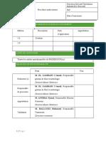 Procedure 1 Audit Interne
