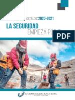 Catálogo 2020-2021 - INVERSIONES IMAJI EIRL