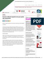 El sector editorial español crece por quinto año consecutivo _ PublishNews - ES